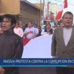 Chiclayo : Masiva protesta contra la corrupción en Chiclayo