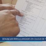 Chiclayo : Denuncian irregularidades en colegio de Túcume
