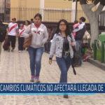 Chiclayo: Cambios climáticos no afectará llegadas de turistas