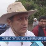 Chiclayo : Gobierno Central reducirá presupuesto en Salud