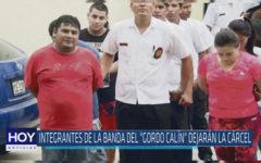 """Chiclayo : Integrantes de la banda del """"Gordo Calín"""" dejarán la cárcel"""