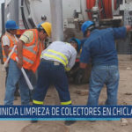 Chiclayo: Inicia limpieza de colectores en Chiclayo y JLO