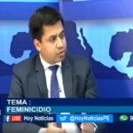 Chiclayo: Delito de feminicidio