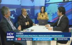 Chiclayo : Coyuntura política, audios CNM, renuncias y marchas.