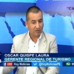 Chiclayo: Estuvo en nuestro set el Gerente Regional de Turismo, Oscar Quispe Laura