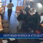 Chiclayo: Existe menor incidencia de actos delictivos