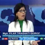 Chiclayo: En Hoy Noticias dialogamos con la magister Pilar Tirabanti, coordinadora de la Escuela de Educación Primaria de la UCV