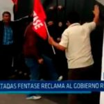 Trujillo: A patadas FENTASE reclama al Gobierno Regional