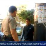 Piura: Abuso de autoridad o proceso de identificación policial