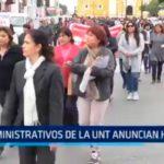 Trujillo: Administrativos de la UNT anuncian huelga