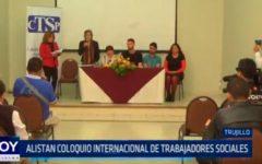 Alistan coloquio internacional de trabajadores sociales