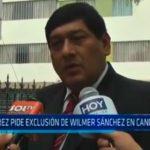 Álvarez pide exclusión de Wilmer Sánchez en candidatura