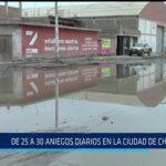 Chiclayo: De 25 a 30 aniegos diarios en la ciudad de Chiclayo