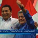 APP presenta a candidatos a las alcaldías y la región