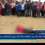 Trujillo: Asesinan a menor que recién había salido de exfloresta
