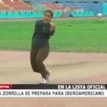 Atleta zorrilla se prepara para Iberoamericano