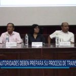 Chiclayo: Autoridades deben preparar su proceso de transferencia