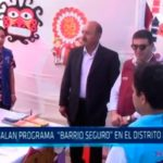 Instalan programa «Barrio Seguro» en el distrito de Moche