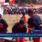 La Libertad: Conmemoran 135 años de la Batalla de Huamachuco