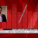 En Cajamarca arbitro favorecería al cuadro local