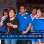 Candidatos a la alcaldía de La Esperanza intensifican campaña