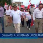 Candidatos a La Esperanza lanzan propuestas