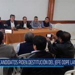 Chiclayo: Candidatos piden destitución del jefe ODPE Lambayeque