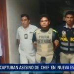Piura: Capturan a presunto asesino de chef