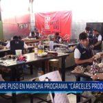 """Chiclayo: Inpe puso en marcha programa """"Cárceles Productivas"""""""