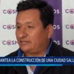 Mesías Ramos: Plantea la construcción de una ciudad saludable