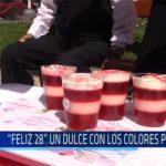 """Chiclayo: """"Feliz 28"""" un dulce con los colores patrios"""