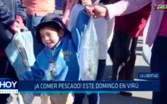 Trujillo: ¡A comer pescado! este domingo en Virú