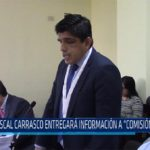 """Chiclayo: Fiscal Carrasco entregará información a """"Comisión Wagner"""""""