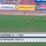 Segunda Profesional: UCV venció 1 – 0 a Deportivo Coopsol