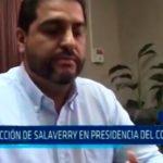 Santa María critica elección de Salaverry en presidencia del Congreso