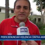 Trujillo: Pide denunciar violencia contra animales
