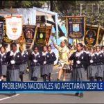 Chiclayo: Problemas nacionales no afectaran desfile