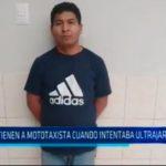 La Libertad: Detienen a mototaxista intentaba ultrajar a menor