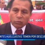 Trujillo: Docentes huelguistas temen por descuentos
