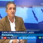 Chiclayo: Conversamos con el periodista Carlos Fernández Lazo