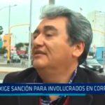Trujillo: Exige sanción para involucrados en corrupción