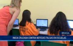 Brasil: Inicia cruzada contra noticias falsas en escuelas