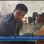 Chiclayo: Envían a  la cárcel a mototaxista que asesino a su ex pareja