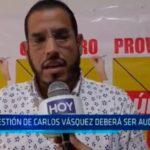 Trujillo: Gestión de Carlos Vásquez deberá ser auditada
