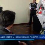 Trujillo: Instalan Oficina Descentralizada de Procesos Electorales