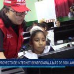 Chiclayo: Proyecto de internet beneficiará a más de 300 mil lambayecanos