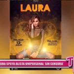 Laura Spoya alista unipersonal 'sin censura'