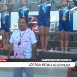 Campeonas regionales logran medallas en Piura