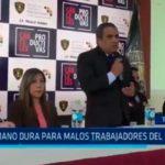 """Trujillo: """"Mano dura para malos trabajadores del INPE"""""""