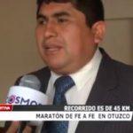 Maratón de fe a fe  en Otuzco